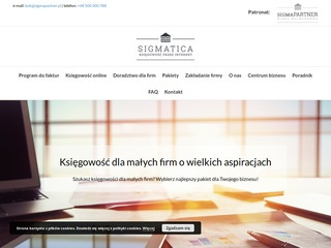 Sigmatica.pl - księgowość online