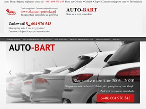 Auto-Bart skup aut Gdynia