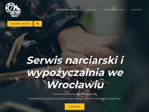 Sportowy Warsztat - serwis nart