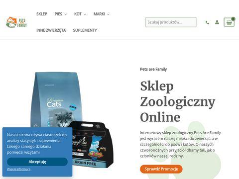 Petsarefamily.pl sklep zoologiczny online