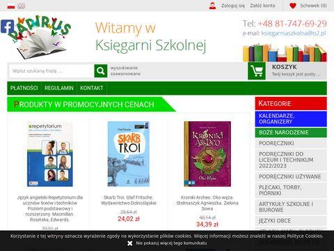 Księgarnia szkolna