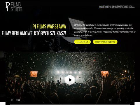 Studio filmowe w Warszawie - PJ films