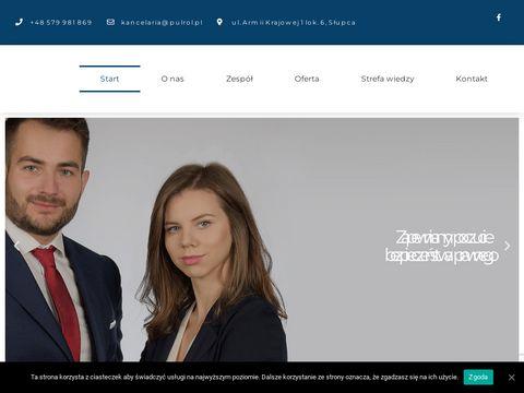 Kancelaria Prawna Pułrół - radca prawny