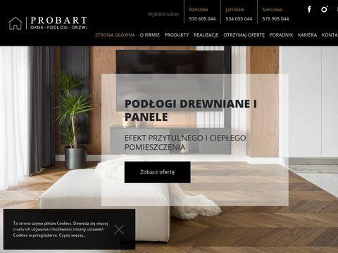 Okna drzwi podłogi Probart Rzeszów