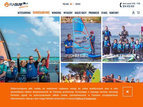 Windsurfing kursy i szkolenia na Helu