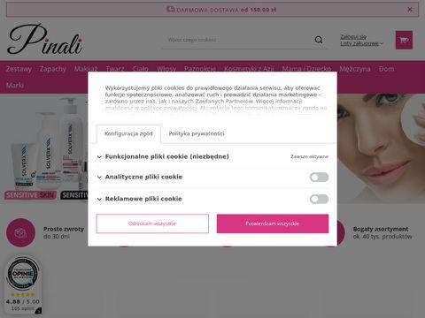 Pinali.pl sklep z kosmetykami z Azji