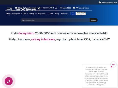 Plexi na wymiar - plexart.com.pl