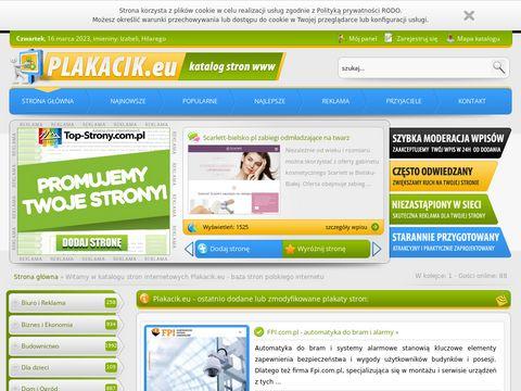 Plakacik.eu baza stron polskiego internetu