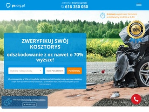 Wypłata odszkodowania - ps.org.pl