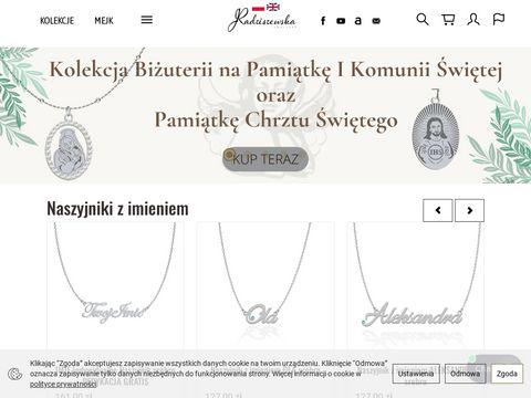 Biżuteria ślubna - Radziszewska online