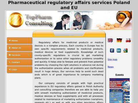 TopPharm - eCTD i rejestracja leków