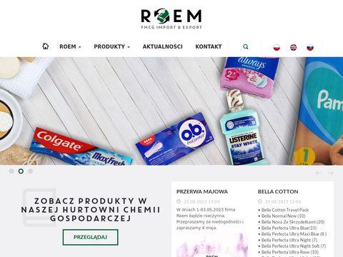 Hurtownia chemiczna Roem