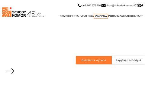 Schody-komor.pl Śląsk
