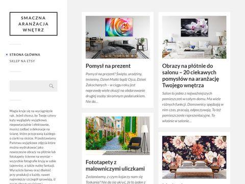 Smaczneobrazy.pl - aranżacja wnętrz