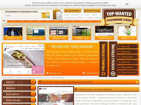 Top-wanted.pl poszukiwane strony