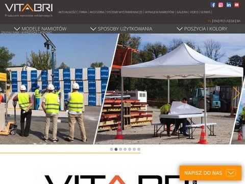 Namioty reklamowe Vitabri