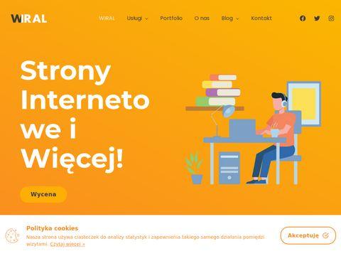 Wiral projektowanie stron internetowych