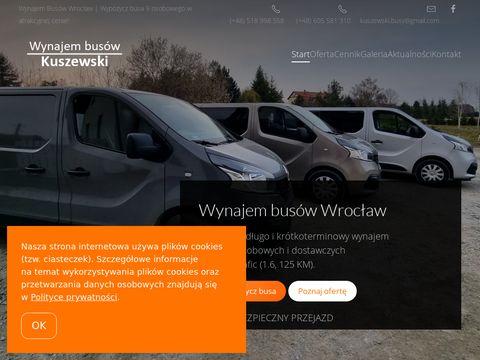 Kuszewski Busy - wynajem busów Wrocław