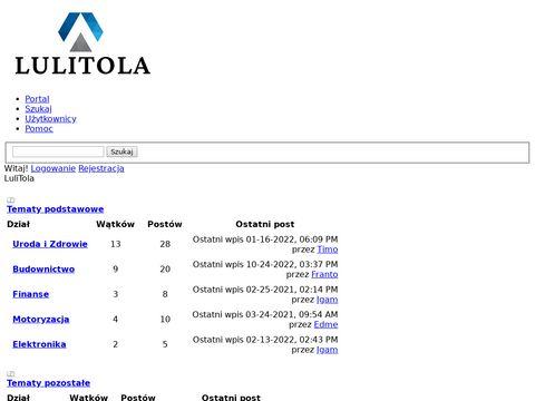 LuliTola pościel kocyki dziecięce
