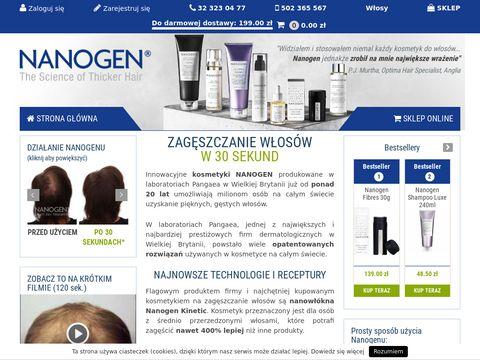 Preparaty na porost włosów - nanogen.pl
