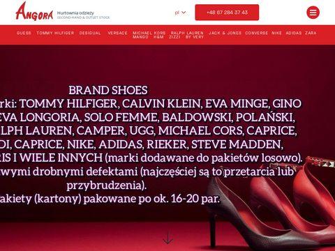 Angora - odzież używana z Anglii