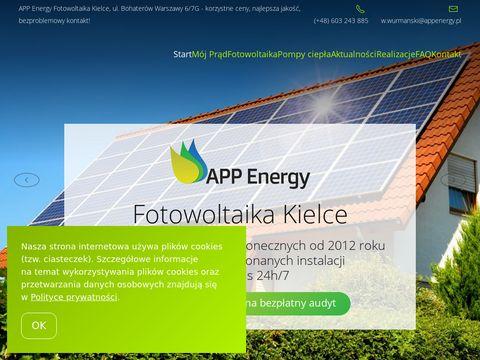 Fotowoltaika APP Energy Kielce