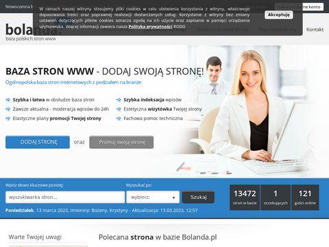 Bolanda.pl baza polskich stron