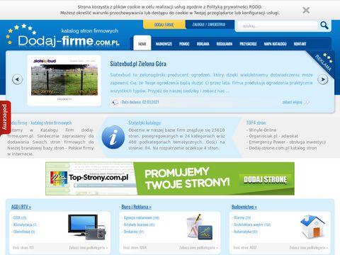 Dodaj-firme.com.pl polskie firmy