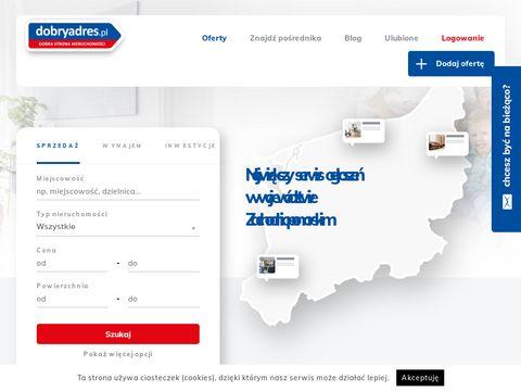 Dobryadres.pl - wynajem mieszkań
