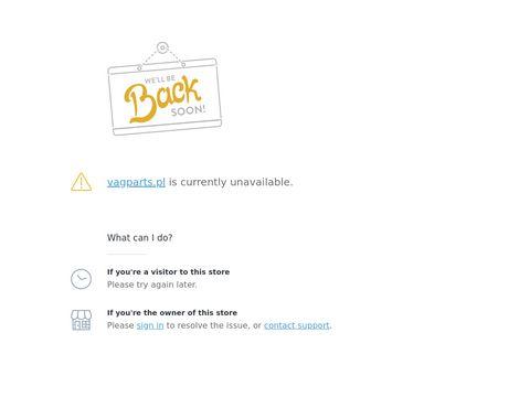 Vagparts.pl samochodowy sklep online
