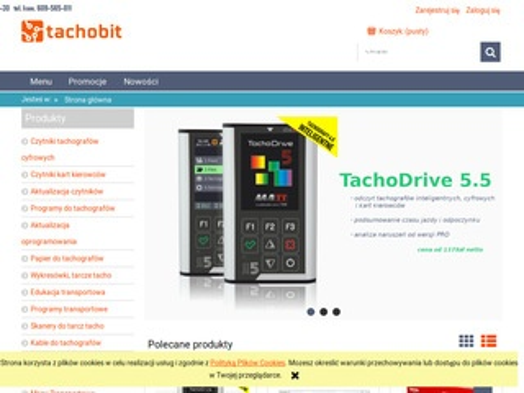 Tachobit.pl czytniki tachografów