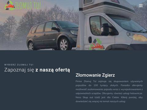 Złomowanie aut Łódź