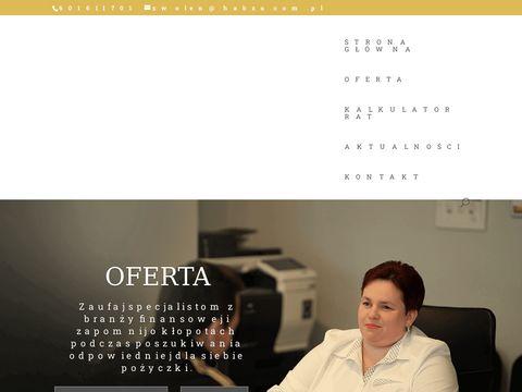 Profesjonalni doradcy - Habza Finanse