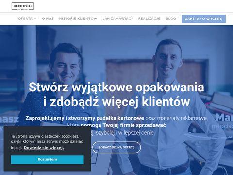 Zpapieru.pl pudełka kartonowe