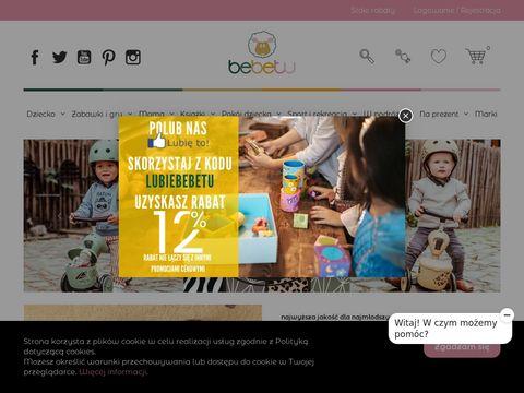 Sklep z zabawkami Bebetu.pl