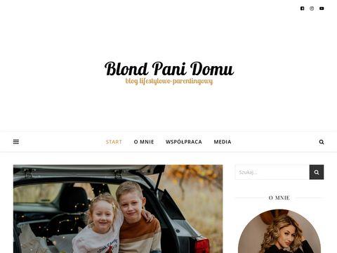 Blondpanidomu.pl - blog o ciąży