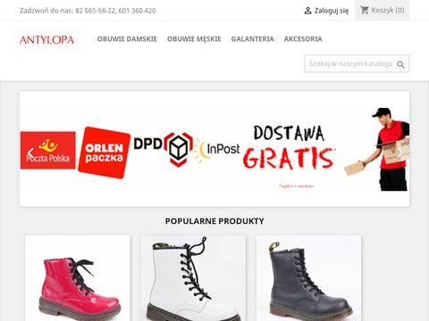 Antylopa - obuwie damskie i męskie