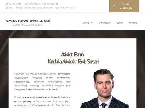 Kancelaria adwokacka Poznań