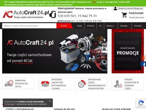 AutoCraft24.pl - auto części samochodowe
