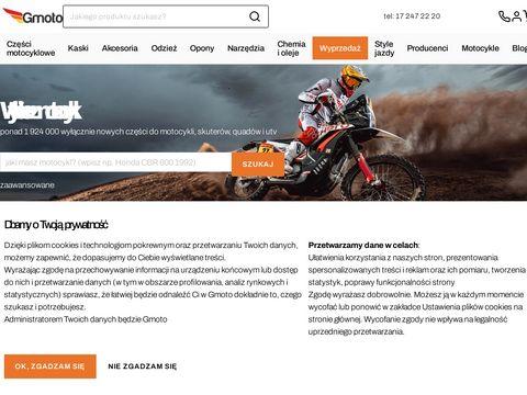 Części motocyklowe - gmoto.pl