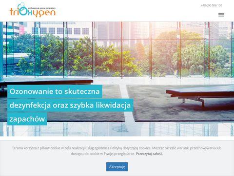 Fabryka Ozonu - ozonowanie Poznań