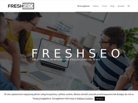 Freshseo.pl - nowoczesna strona