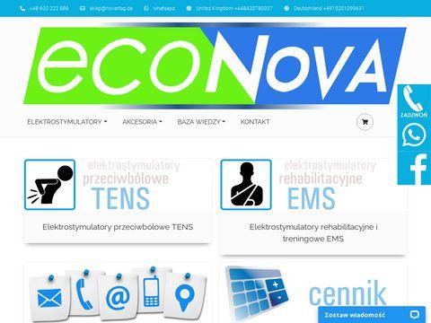 EcoNova - elektrostymulatory