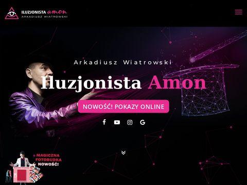 Iluzjonistaamon.com Toruń magik