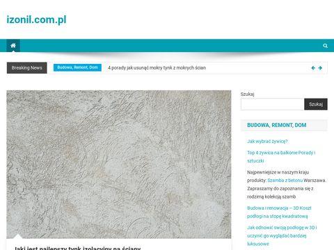 Hydroizolacja na izonil.com.pl