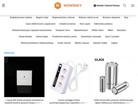 Nowinky.pl - zakupy prosto od producenta