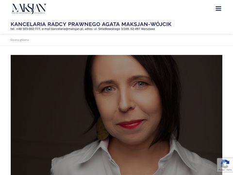 Maksjan.pl radca prawny