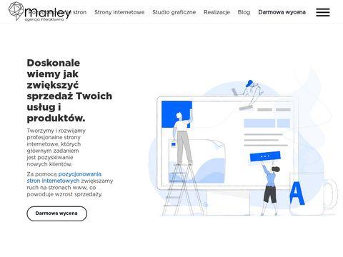 Manley.pl - strony internetowe
