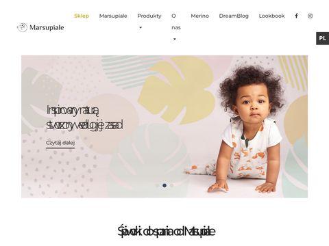 Sklep dla niemowlaków - marsupiale.com
