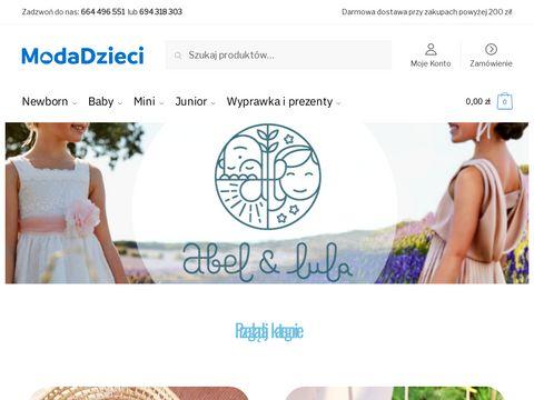 Modadzieci.pl - odzież dziecięca mayoral